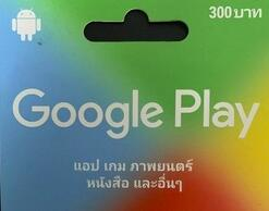 泰国 谷歌 充值卡 Google Play Gift Card